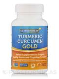 Turmeric Curcumin Gold 120 Vegetable Capsules