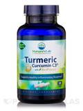 Turmeric Extract Curcumin C3® with BioPerine® - 120 Vegetarian Capsules