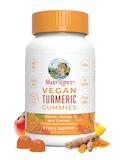 Turmeric Gummies - Peach, Mango and Lemon Flavored - 120 Count