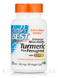 Turmeric Plus Fenugreek with CurQfen® - 90 Veggie Capsules