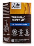 Turmeric Supreme: Pain P. M. 60 Vegetarian Liquid Phyto-Caps®