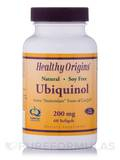 Ubiquinol 200 mg (Active Form of CoQ10) 60 Softgels