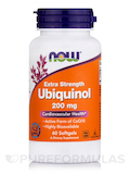 Ubiquinol Extra Strength 200 mg 60 Softgels