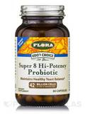 Udo's Choice® Super 8 Hi-Potency Probiotic - 30 Vegetarian Capsules