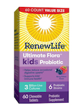Ultimate Flora™ Kids Probiotic 3 Billion CFU, Berry-Licious Flavor - 60 Chewable Tablets