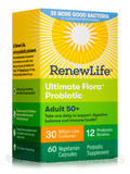 Ultimate Flora™ Adult 50+ Probiotic 30 Billion - 60 Vegetarian Capsules