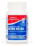 Ultra K2-D3 Cinnamon - 60 Chewable Tablets