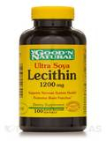 Ultra Lecithin 1200 mg (19 grain) 100 Softgels