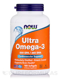 Ultra Omega-3 500 EPA / 250 DHA - 180 Softgels