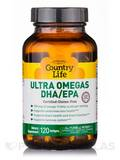 Ultra Omegas DHA/EPA 120 Softgels