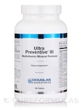 Ultra Preventive® III - 180 Tablets