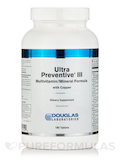 Ultra Preventive III with Copper 180 Tablets