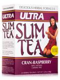 Ultra Slim Tea® Cran-Raspberry - 24 Tea Bags (1.69 oz / 48 Grams )