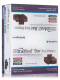 UltraMeal Bar RICE (Natural Chocolate Fudge Flavor) - Box of 12 Bars (23.28 oz / 660 Grams)