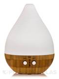 Ultrasonic Aroma Diffuser (Ceramic Cover & Bamboo Base) - 1 Unit
