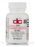 Vanadyl Sulfate - 60 Tablets
