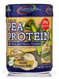 Natural Pea Protein with Rice and Hemp Protein (Vanilla Cinnamon Swirl) - 16 oz (450 Grams)