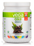 Vega One All-In-One Shake, Chocolate Flavored - 13.2 oz (375 Grams)