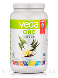 Vega One All-In-One Shake, French Vanilla Flavored - 24.3 oz (689 Grams)