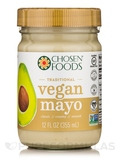 Vegan Avocado Oil Mayo - Traditional - 12 fl. oz (355 ml)