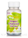 Vegan Charcoal 250 mg - 60 Vegan Capsules