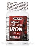 Vegan Chelated Iron 29 mg - 90 Tablets