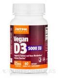 Vegan D3 5000 IU - 60 Veggie Capsules