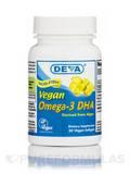 Vegan Omega-3 DHA (Derived from Algae) - 30 Vegan Softgels