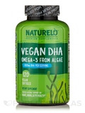 Vegan DHA, Omega-3 from Algae - 120 Vegan Softgels