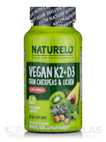 Vegan K2 + D3 Form Chickpeas & Lichen - 60 Vegetarian Capsules