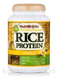 RAW Rice Protein, Vanilla Flavor - 21 oz (600 Grams)