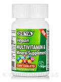 Vegan Multivitamin & Mineral Supplement - 90 Tiny Tablets