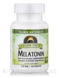 Vegan True™ Melatonin 2.5 mg - 60 Orange Tablets
