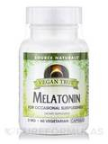 Vegan True™ Melatonin 3 mg - 60 Vegetarian Capsules