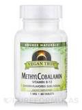Vegan True™ Methylcobalamin Vitamin B-12 (Cherry Flavored Sublingual) - 60 Tablets