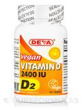 Vegan Vitamin D2 2400 IU 90 Tablets