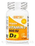 Vegan Vitamin D2 800 IU - 90 Tablets