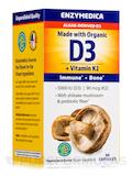 Vegan Vitamin D3 + K2 - 60 Capsules
