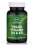Vegan Vitamin D3 & K2 - 60 Vegan Capsules