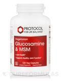 Glucosamine & MSM - 120 Vegetarian Capsules