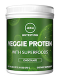 Veggie Protein with Superfoods, Chocolate Flavor - 20.1 oz (570 Grams)