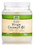 NOW Real Food® - Virgin Coconut Oil (Certified Organic) - 54 fl. oz (1600 ml)