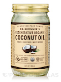 Regenerative Organic Virgin Coconut Oil (White Kernel, Fresh-Pressed, Unrefined) - 14 fl. oz (414 ml