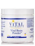 Vital Brain Powder, Natural Lemon Flavor - 180 Grams