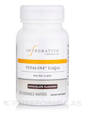 Vitaline CoQ10 Chocolate 100 mg 30 Chewable Wafers