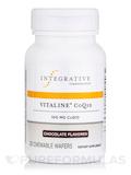 Vitaline® CoQ10 100 mg, Chocolate Flavor - 30 Chewable Wafers