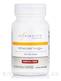 Vitaline CoQ10 Tropical Fruit 100 mg 30 Chewable Wafers