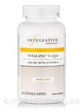 Vitaline® CoQ10 300 mg with Vitamin E, Maple Nut Flavor - 60 Chewable Wafers