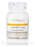 Vitaline® CoQ10 100 mg with Vitamin E, Orange Creme Flavor - 30 Chewable Wafers