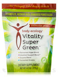 Vitality SuperGreen Powder - 9.7 oz (279 Grams)